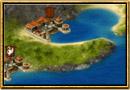 Captură de ecran Grepolis - Hartă